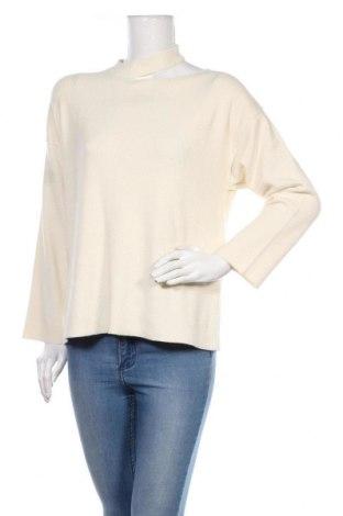 Дамски пуловер Resume, Размер S, Цвят Бял, 80% памук, 17% полиамид, 3% полиестер, Цена 26,00лв.