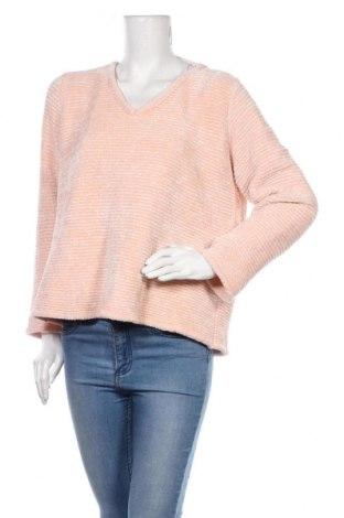Дамски пуловер Vrs Woman, Размер XL, Цвят Розов, Полиестер, Цена 13,16лв.