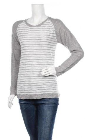 Дамски пуловер Vrs Woman, Размер M, Цвят Сив, Акрил, Цена 8,26лв.
