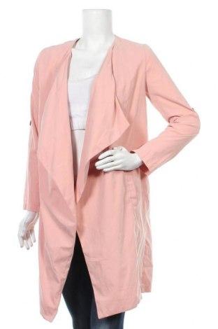Дамски шлифер Yes Or No, Размер S, Цвят Розов, 90% полиестер, 10% полиамид, Цена 11,03лв.