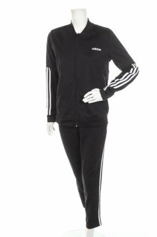 Дамски спортен комплект Adidas, Размер L, Цвят Черен, Полиестер, Цена 134,25лв.