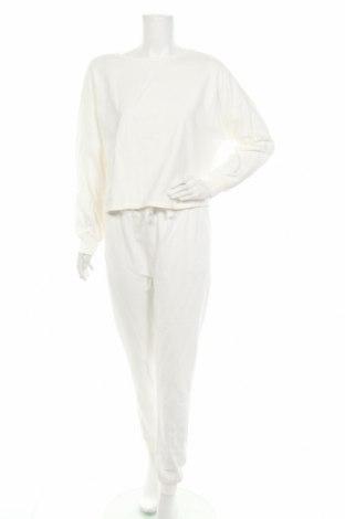 Дамски спортен комплект Anna Field, Размер L, Цвят Бял, Памук, Цена 40,96лв.