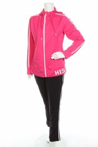 Дамски спортен комплект H.i.s, Размер M, Цвят Черен, 94% полиестер, 6% еластан, Цена 66,75лв.