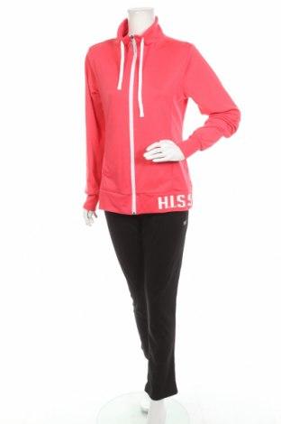 Дамски спортен комплект H.i.s, Размер L, Цвят Розов, 65% полиестер, 35% памук, Цена 51,62лв.