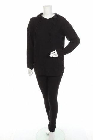 Дамски спортен комплект Missguided, Размер L, Цвят Черен, Памук, Цена 40,02лв.