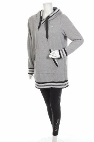 Дамски спортен комплект Ocean, Размер XL, Цвят Сив, 95% памук, 5% еластан, Цена 51,62лв.