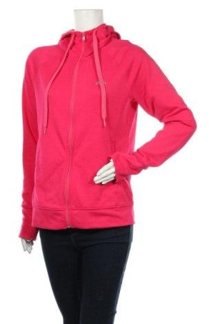 Hanorac de femei Adidas, Mărime M, Culoare Roz, Poliester, Preț 139,26 Lei