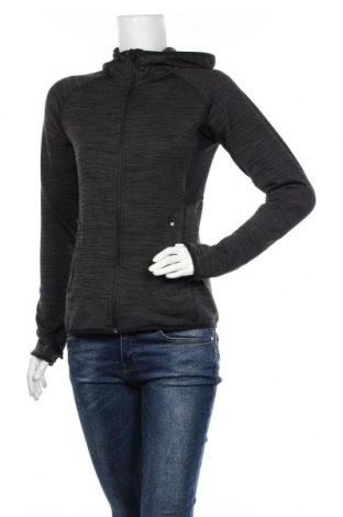 Hanorac de femei H&M Sport, Mărime S, Culoare Gri, 97% poliester, 3% elastan, Preț 92,84 Lei