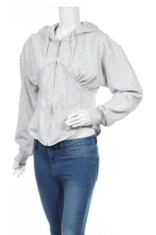 Hanorac de femei Missguided, Mărime XL, Culoare Gri, 65% poliester, 35% bumbac, Preț 82,20 Lei