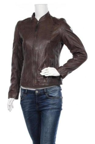 Дамско кожено яке Alpenblitz, Размер M, Цвят Кафяв, Естествена кожа, Цена 128,52лв.