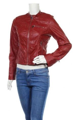 Дамско кожено яке Ci Sono, Размер S, Цвят Червен, Еко кожа, Цена 33,92лв.