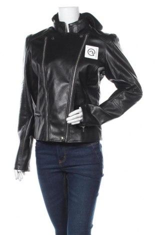 Geacă de piele pentru femei Kendall + Kylie for OVS, Mărime M, Culoare Negru, Piele ecologică, Preț 169,80 Lei