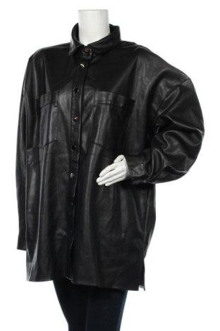 Geacă de piele pentru femei Nly Trend, Mărime XL, Culoare Negru, Piele ecologică, Preț 141,18 Lei
