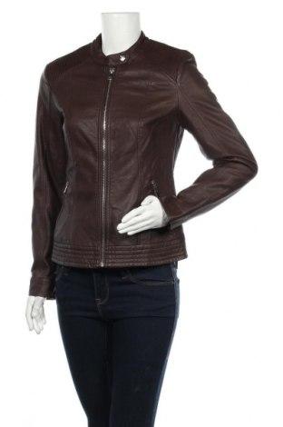 Дамско кожено яке Orsay, Размер M, Цвят Кафяв, Еко кожа, Цена 37,80лв.