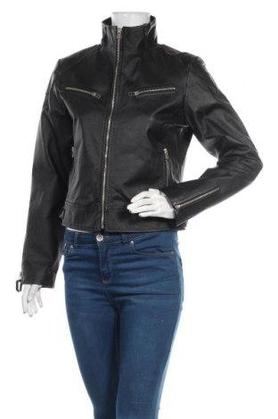 Geacă de piele pentru femei Outfit, Mărime M, Culoare Negru, Piele naturală, Preț 305,55 Lei