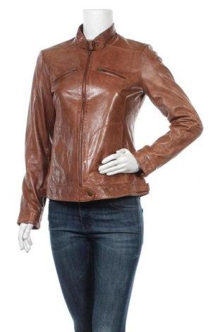 Geacă de piele pentru femei TCM, Mărime M, Culoare Maro, Piele naturală, Preț 261,95 Lei
