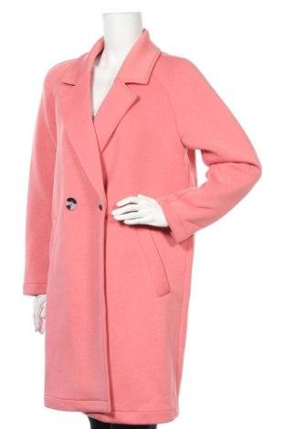 Дамско палто ONLY, Размер M, Цвят Розов, 55% полиестер, 40% вискоза, 5% еластан, Цена 63,22лв.