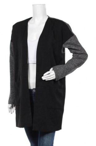 Дамско палто Object, Размер L, Цвят Сив, Полиестер, еластан, вискоза, Цена 15,54лв.