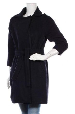 Dámský kabát  Un Deux Trois, Velikost S, Barva Modrá, 70% vlna, 30%acryl, Cena  911,00Kč