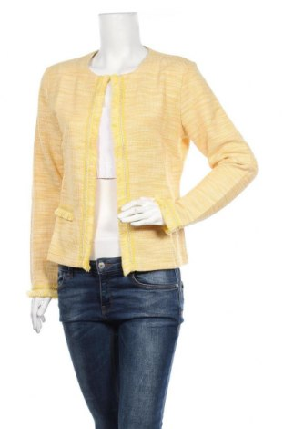 Дамско сако Cream, Размер M, Цвят Жълт, 40% памук, 40% полиестер, 20% вискоза, Цена 55,60лв.