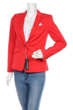 Дамско сако Esprit, Размер M, Цвят Червен, 52% памук, 48% полиестер, Цена 60,52лв.