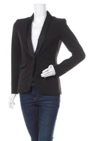 Дамско сако H&M, Размер S, Цвят Черен, 94% полиестер, 6% еластан, Цена 5,82лв.