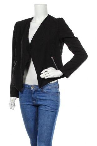 Γυναικείο σακάκι H&M Divided, Μέγεθος M, Χρώμα Μαύρο, 71% πολυεστέρας, 22% βισκόζη, 7% ελαστάνη, Τιμή 14,91€