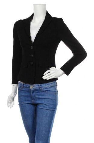 Дамско сако Luisa Cerano, Размер S, Цвят Черен, 90% вискоза, 8% полиамид, 2% еластан, Цена 44,10лв.