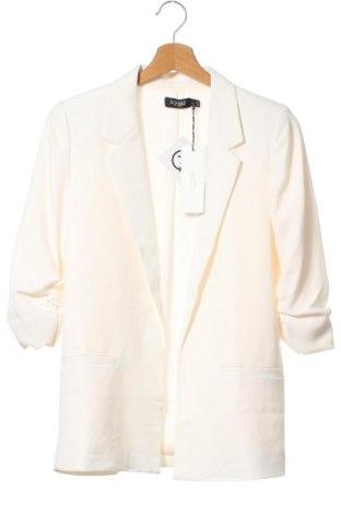 Дамско сако Soaked In Luxury, Размер XS, Цвят Бял, Полиестер, Цена 57,77лв.