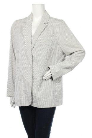 Дамско сако Violeta by Mango, Размер XXL, Цвят Сив, Цена 13,65лв.