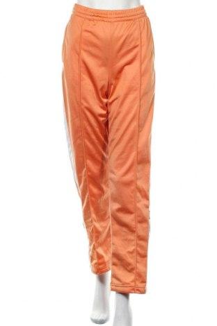 Дамско спортно долнище Adidas Originals, Размер L, Цвят Оранжев, Полиестер, Цена 74,25лв.