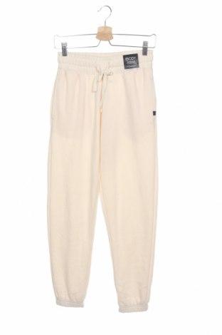 Дамско спортно долнище Cotton On, Размер XS, Цвят Екрю, 65% полиестер, 35% памук, Цена 22,05лв.