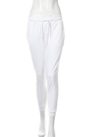 Дамско спортно долнище Even&Odd, Размер M, Цвят Бял, 60% памук, 40% полиестер, Цена 19,32лв.