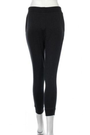 Дамско спортно долнище Even&Odd, Размер S, Цвят Черен, 60% памук, 40% полиестер, Цена 22,62лв.