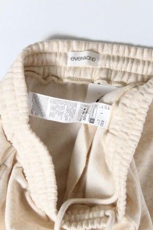 Дамско спортно долнище Even&Odd, Размер L, Цвят Бежов, 60% памук, 40% полиестер, Цена 24,36лв.