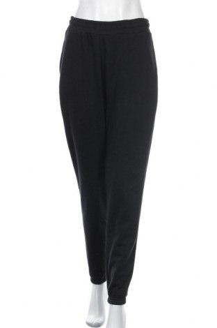 Дамско спортно долнище Even&Odd, Размер M, Цвят Черен, 60% памук, 40% полиестер, Цена 19,80лв.