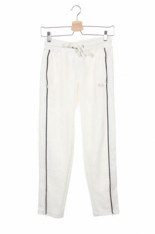 Дамско спортно долнище H.i.s, Размер XS, Цвят Бял, 60% памук, 40% полиестер, Цена 34,22лв.