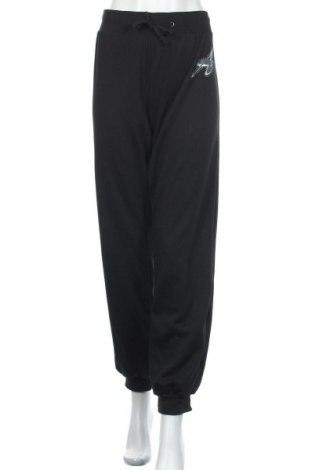 Дамско спортно долнище Janina, Размер XL, Цвят Черен, 80% полиестер, 20% памук, Цена 7,56лв.
