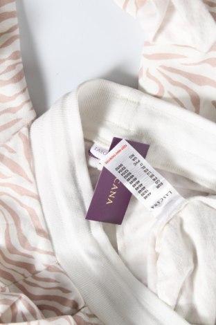 Дамско спортно долнище Lascana, Размер XL, Цвят Бял, 50% памук, 50% полиестер, Цена 21,07лв.