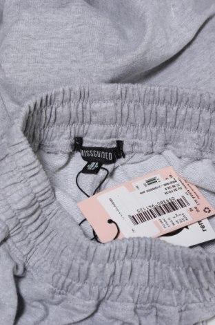 Дамско спортно долнище Missguided, Размер XS, Цвят Сив, 60% памук, 40% полиестер, Цена 19,11лв.