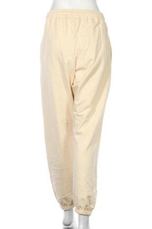 Дамско спортно долнище Missguided, Размер L, Цвят Жълт, 60% памук, 40% полиестер, Цена 25,30лв.