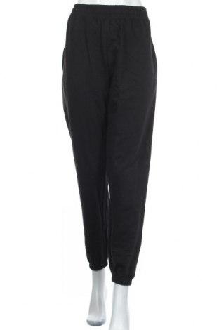 Дамско спортно долнище Missguided, Размер XL, Цвят Черен, 60% памук, 40% полиестер, Цена 27,84лв.