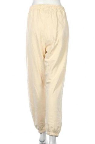 Дамско спортно долнище Missguided, Размер XL, Цвят Жълт, 60% памук, 40% полиестер, Цена 25,30лв.