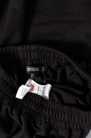 Дамско спортно долнище Missguided, Размер M, Цвят Черен, 60% памук, 40% полиестер, Цена 19,89лв.