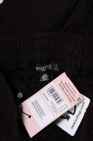 Дамско спортно долнище Missguided, Размер XS, Цвят Черен, 60% памук, 40% полиестер, Цена 19,89лв.