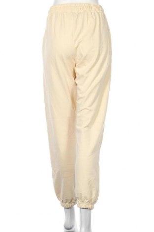 Дамско спортно долнище Missguided, Размер M, Цвят Жълт, 60% памук, 40% полиестер, Цена 25,30лв.