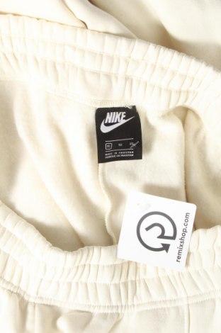 Дамско спортно долнище Nike, Размер XL, Цвят Екрю, 80% памук, 20% полиестер, Цена 26,88лв.