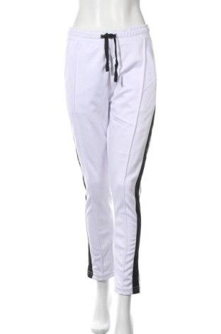 Pantaloni trening de femei Nominal, Mărime M, Culoare Alb, Poliester, Preț 69,31 Lei