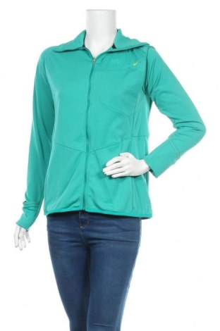 Дамско спортно горнище Millet, Размер XL, Цвят Зелен, 96% полиестер, 4% еластан, Цена 11,97лв.