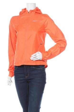 Dámská sportovní bunda  Nike, Velikost S, Barva Oranžová, Polyester, Cena  1036,00Kč